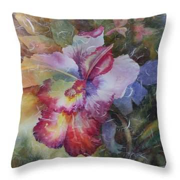 Hello Gorgeous Throw Pillow by Tara Moorman