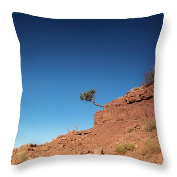 Hello Hikers Throw Pillow