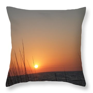 Throw Pillow featuring the photograph Hello Night by Robert Margetts