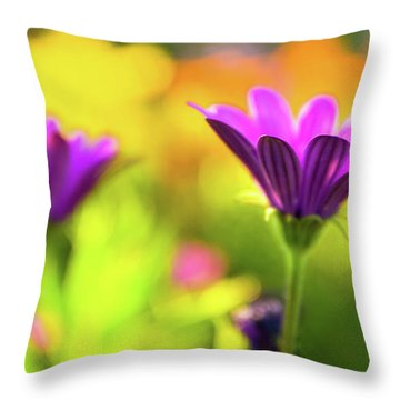 Throw Pillow featuring the photograph Hello Spring by Awais Yaqub