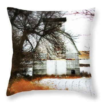 Throw Pillow featuring the photograph Hello There by Julie Hamilton