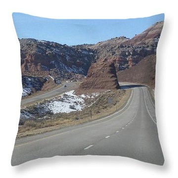 Hello Utah Throw Pillow