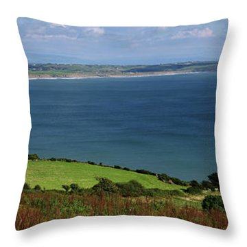 Hells Mouth Throw Pillow by Steev Stamford