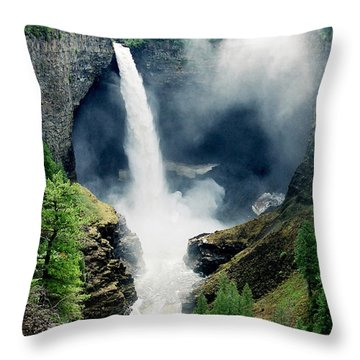 Helmken Thunder Throw Pillow