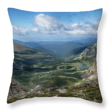 Helms Lake Valley 2 Throw Pillow
