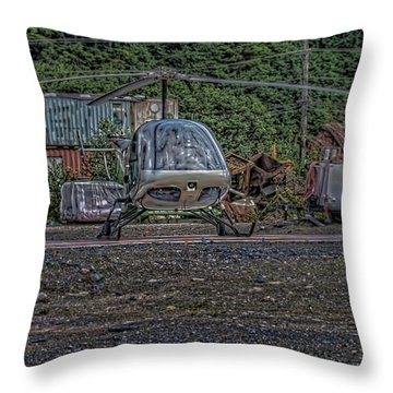 Throw Pillow featuring the photograph Help 4 by Timothy Latta