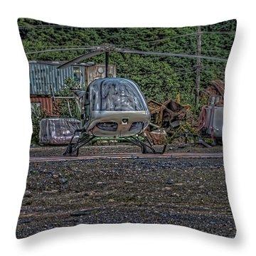 Help 4 Throw Pillow by Timothy Latta