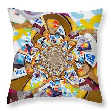 Help Before It Is Too Late  Throw Pillow