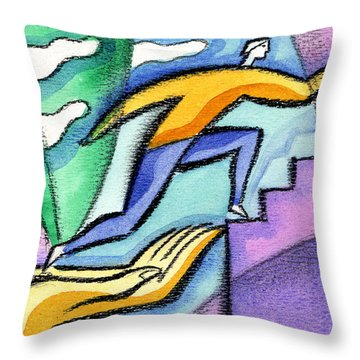 Helping Hand And Career Throw Pillow