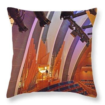 Helzberg Hall #3 Throw Pillow