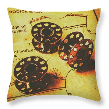 Hemming From Tradition Throw Pillow