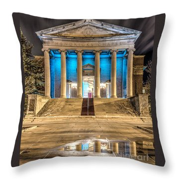 Hendricks Chapel Throw Pillow