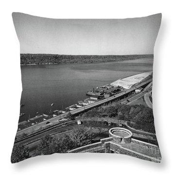 Henry Hudson Parkway, 1936 Throw Pillow by Cole Thompson