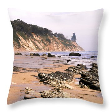 Henry's Beach Throw Pillow