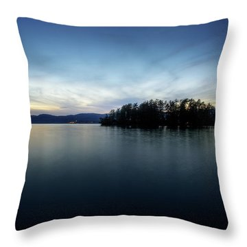 Hens And Chickens Islands Throw Pillow