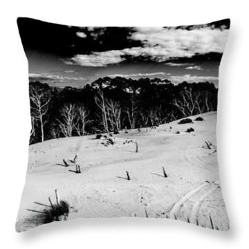 Henty Dunes Tasmania Throw Pillow