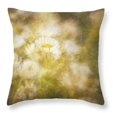 Her Beauty Alone Throw Pillow