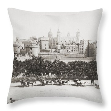 Her Majesty S Royal Palace And Throw Pillow