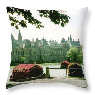 Her Majesty's Garden Throw Pillow