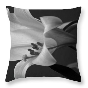 Her Name Was Lily Throw Pillow