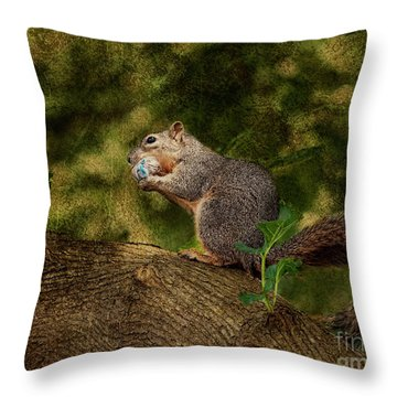 Her Treasure Throw Pillow