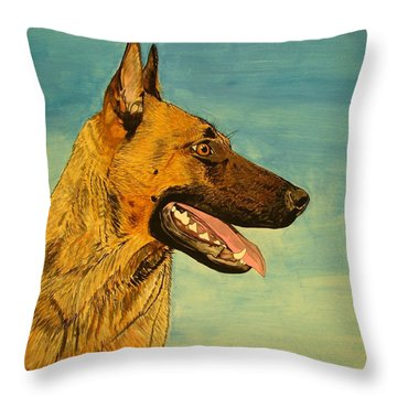 Hera Throw Pillow by Melita Safran