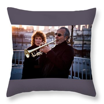 Herb Alpert Throw Pillow