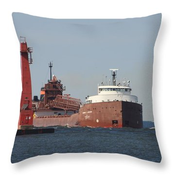 Herbert C. Jackson 2 Throw Pillow