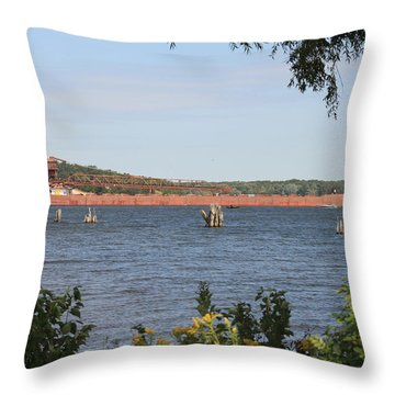 Herbert C. Jackson Throw Pillow
