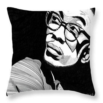 Herbie Hancock Throw Pillow