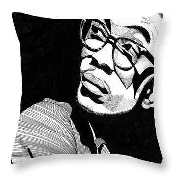 Herbie Hancock Throw Pillow