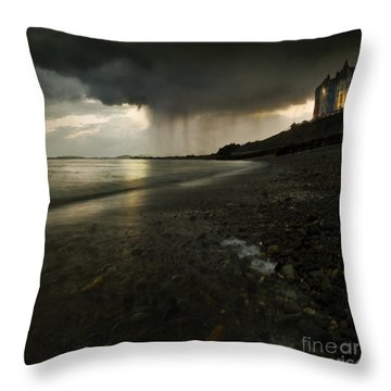 Beach Towns Throw Pillows