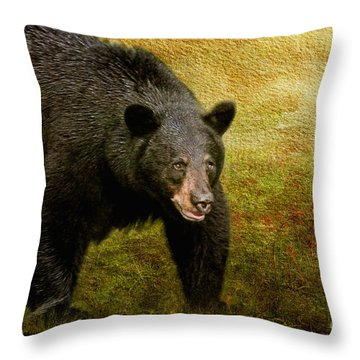 Here Comes Trouble Throw Pillow by Lois Bryan