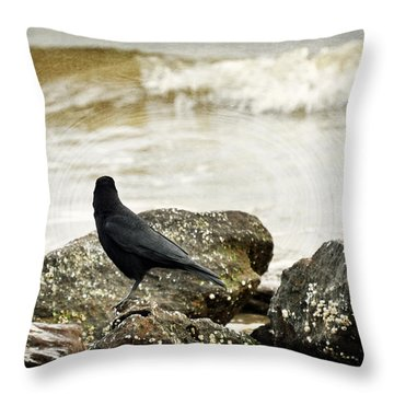Here I Love You Throw Pillow