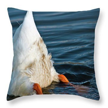 Here Is What I Think Throw Pillow