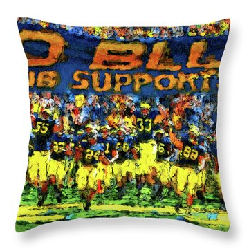 Here We Come Throw Pillow