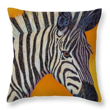 Here's Lookin At You Throw Pillow by Tracy L Teeter