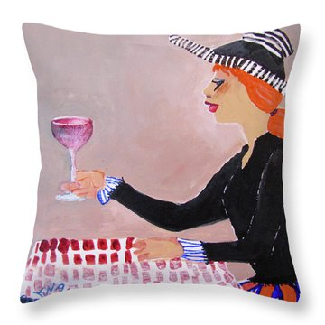 Heres To All The Men I've Jilted Throw Pillow