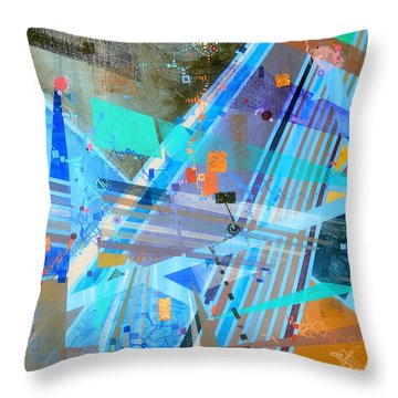 Heretical Musings On Heuristic Mechanisms Throw Pillow