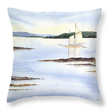 Heritage At Rest Throw Pillow