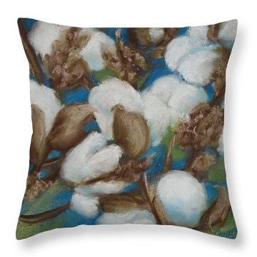 Heritage Corridor Cotton Throw Pillow