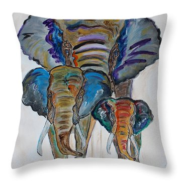 Heritage Walk Throw Pillow