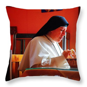 Hermana Throw Pillow by Skip Hunt