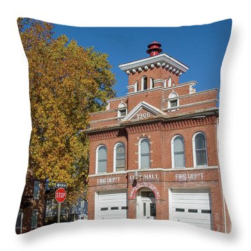 Hermann Missouri Mo Usa Throw Pillow