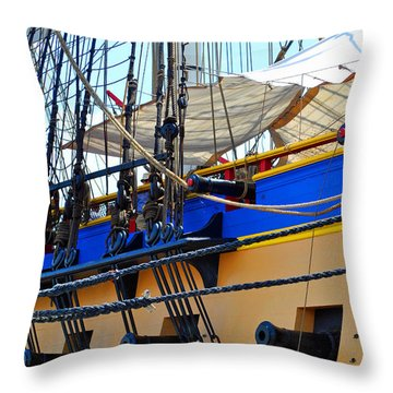Hermione Cannons Throw Pillow
