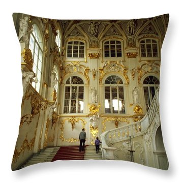 Hermitage Staircase Throw Pillow