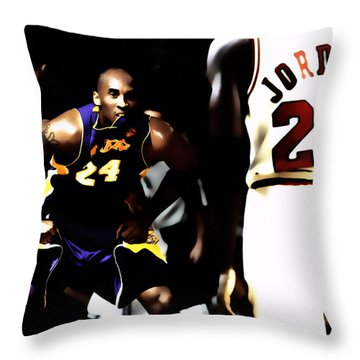 Heroes Come And Go But Legends Are Forever Throw Pillow
