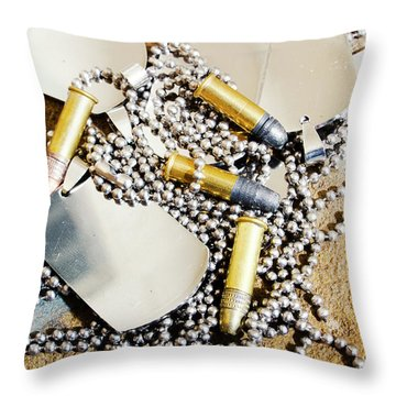Heroes Of Service Throw Pillow