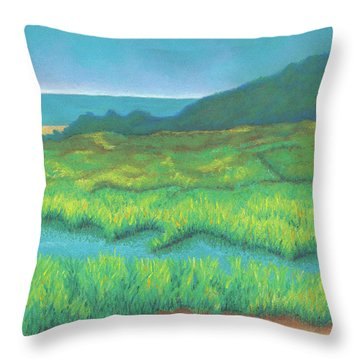 Heron's Home Throw Pillow