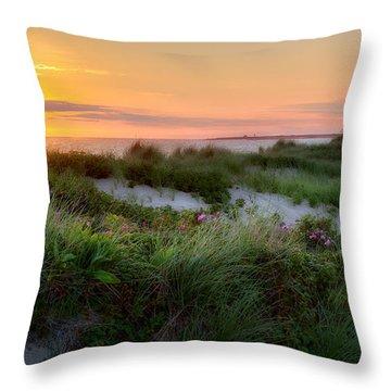 Herring Cove Beach Throw Pillow